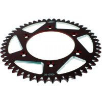 Alu chain wheel 50T pitch 520 red