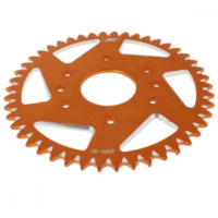 Alu chain wheel 46T pitch 520 orange A439946ORG