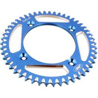 Alu- sprocket 49Z Pitch 428 blue