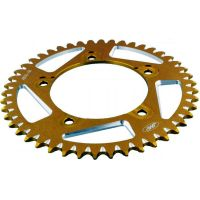 Alu- sprocket 46Z Pitch 520 gold