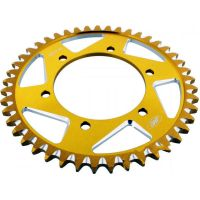 Alu- sprocket 45Z Pitch 530 gold