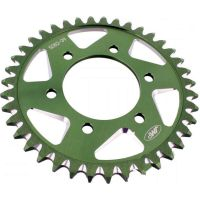 Alu- sprocket 39Z Pitch 525  green