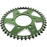 Alu- sprocket 43Z Pitch 525  green