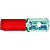 Spade connector male red -1.0 4001796059292