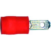 Spade connector male red -1.0 4044325642756