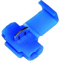 Insulated snap connector 1.5-2.5 blue