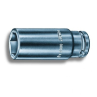 Impact socket 6kt 1/2 27 long