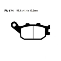 Brake pads std ebc FA174 für Honda CBR  600 PC31 1995 (rear)