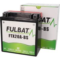 Batterie Fulbat YTX20A-BS MF war...