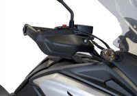 Hand guards - matt black HONDA NC750X RC90
