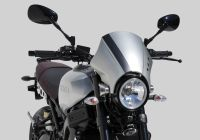 Headlight cover - silver YAMAHA XSR900 RN43