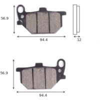 disk brake pads Lucas MCB 503 ABE approved