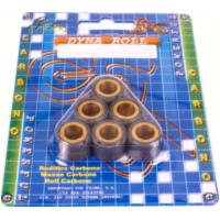 Carbon Rollenkit 16x13 Variomatikgewichte Variomatikrollen 6 Gr MC20-1613-60