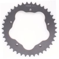 PBR aluminium rear sprocket hard anodized smoke grey for PBR rear sprocket holder 525 - 39T K4566L-39