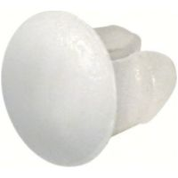 Set 100 pcs buttons plate - White
