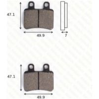 Disc brake pads MCB735EC