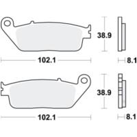 1992-1993 N Bremssattel Bremszangen Reparatursatz Bj vorne f/ür Honda CB 750 F2 Seven Fifty RC42