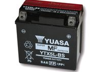 YUASA battery YTX 5L-BS maintenance free