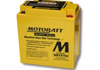 MOTOBATT battery MBTX16U, 4-ports für Moto Guzzi Bellagio  940 LY000 2010-2010