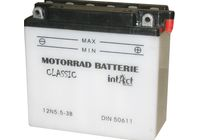 Intact Bike Power battery 12N5.5-3B incl. acid-pac