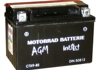 Intact Bike Power battery CTX9-BS, maintenance-free -incl. acid-package für Benelli Velvet  150 M10000 2001-2001