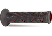 Roller Moped Lenkergriffe ProGrip 717 Enduro schwarz rot