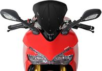 MRA spoiler disc S, Ducati Supersport / S, black für Ducati Supersport Carenata 600 600S 1994