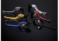 ABM Synto brake lever, black/red , long version, BMW S 1000 RR für BMW S ABS 1000 K10/K46 2014