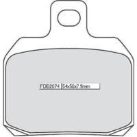 FERODO disc brake pad FDB 2074 EF für Ducati Supersport Carenata 600 600S 1994 (rear)