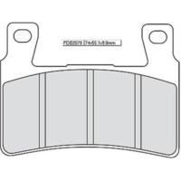 Ferodo sinter racing brake pad FDB 2079 XRAC für Honda CB  1300 SC54 2006-2008 (vorn left,vorn right)