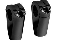 Riser Set Spartican for 32mm handlebars black