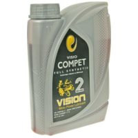 engine oil Vision full synthetic 2-stroke 1 liter 10198 für HM-Moto/Vent-Moto Derapage Competition 50  2014