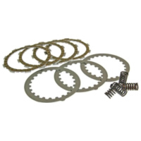 clutch plate / disc set sport, cork and steel plates incl. springs for Minarelli AM, Generic, KSR-Moto, Keeway, Motobi, Ride, 1E für Beta RR Motard 50  2009