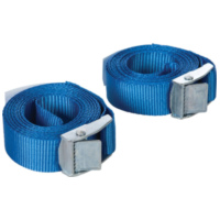 cam buckle tie-down straps Silverline 25mm x 2.5m, 2-piece 35762