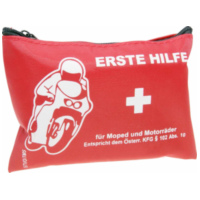 first aid kit pouch for motorcycle, geared bike, scooter 36748