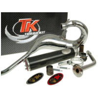 exhaust Turbo Kit Bufanda Carreras 80 for Beta RR50 (03-10) CARR07-04 für Beta RR Motard Alu 50  2006