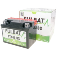 battery Fulbat FTX4L-BS MF maintenance free FB550617 für MBK TZR XPower 50  2000-2002