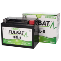 battery Fulbat FB4L-B GEL High Power 5Ah FB550916 für Aprilia RS Extrema/Replica 50 PG000 2000