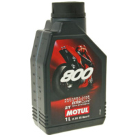 Motul engine oil 2-stroke 800 Road Racing Factory Line 1 liter MOT837211 für HM-Moto/Vent-Moto Derapage Competition 50  2014
