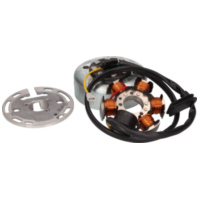 alternator stator and rotor OEM for Minarelli AM3, AM4, AM5, AM6 kick start PI-AP8212564 für Malaguti XTM  50  2003-2006