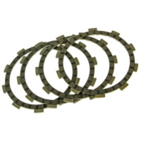 clutch plates - set of 4 pcs for Minarelli AM, Generic, KSR-Moto, Keeway, Motobi, Ride, CPI, 1E40MA, 1E40MB VC19092 für Beta RR Motard 50  2007