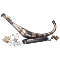 exhaust Yasuni R2 MAX black for Offroad, SM, Minarelli AM, Derbi D50B0, EBE YA810XB für Beta RR Motard 50  2009