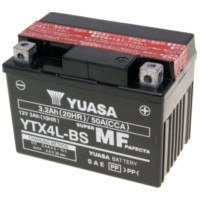 battery Yuasa YTX4L-BS DRY MF maintenance free YS36176 für MBK TZR XPower 50  2000-2002
